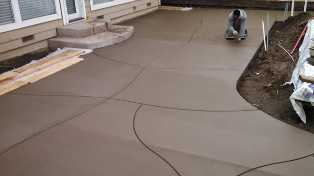 this image shows stained concrete san ramon