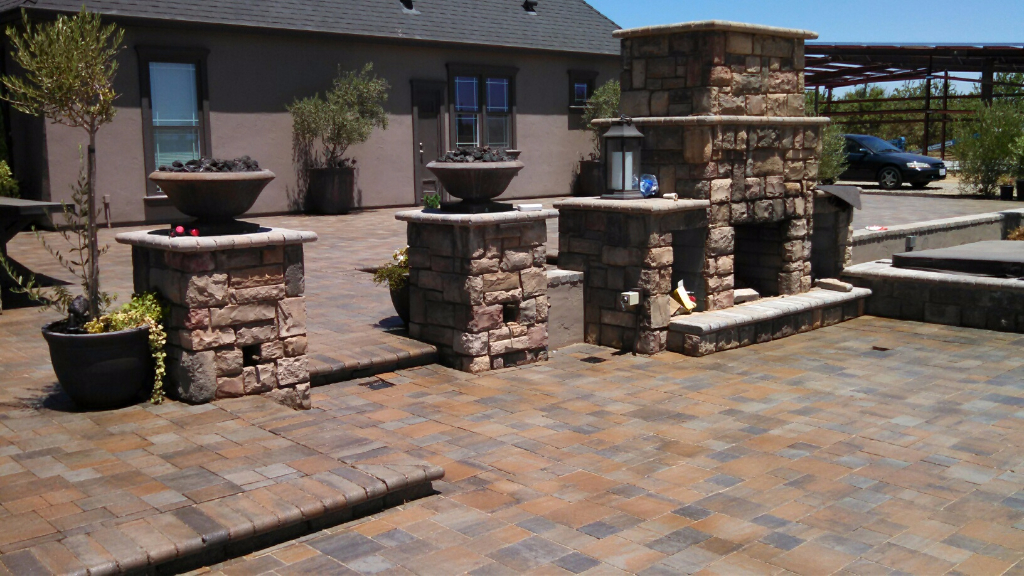 this image shows stone masonry san ramon