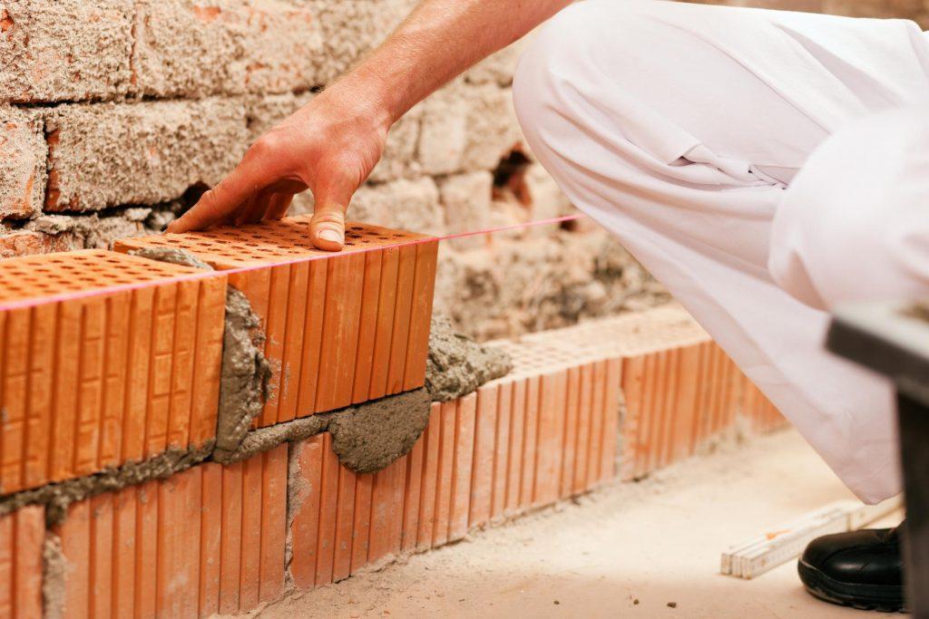 this is an image of san ramon concrete masonry project for brick masonry