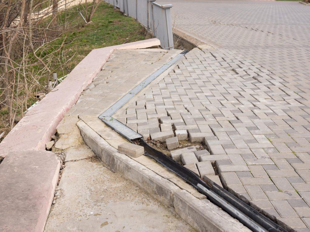 this image shows san ramon concrete driveway pavers
