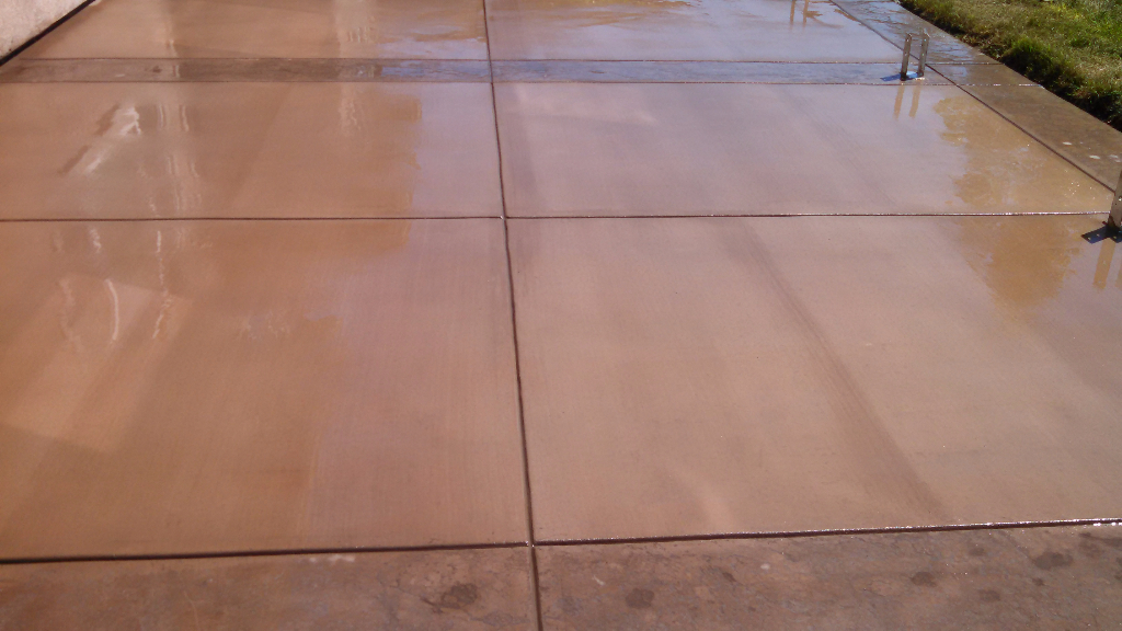 this image shows san ramon concrete patio flagstone patio project