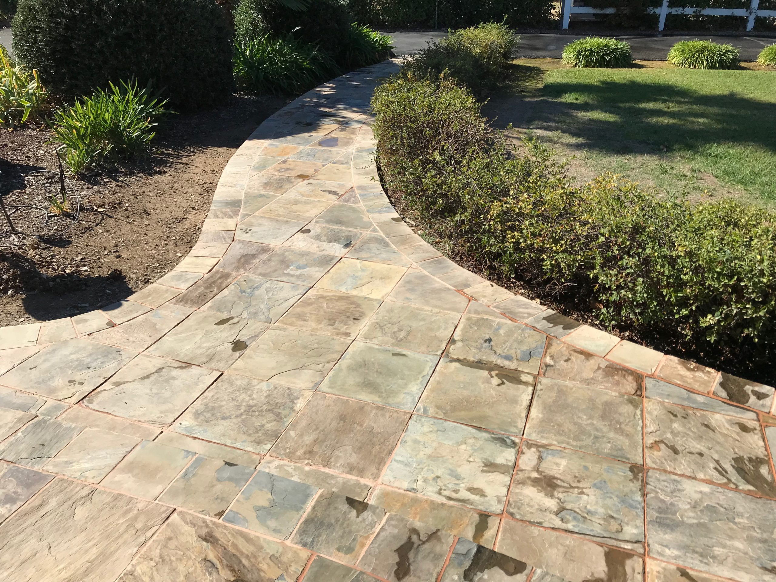 this is an image of concrete pavers in San Ramon