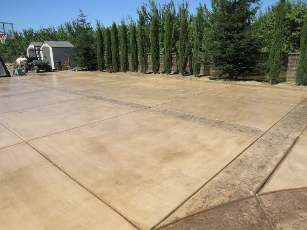 this is an image of concrete resurfacing in San Ramon